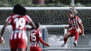 Deyna Castellanos anota su primer gol para el Atlético de Madrid
