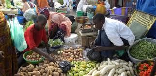 Tourisme, marché, Tilène, Médina, ville, légumes, frais, fruits, LEUKSENEGAL, Sénégal, Dakar, Afrique