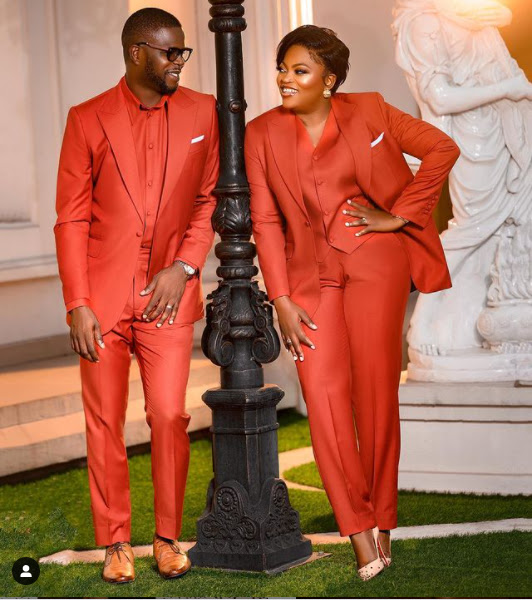 May we live Longer Together- Funke Akindele says as she and her husband celebrates their 5th wedding anniversary (Photos)