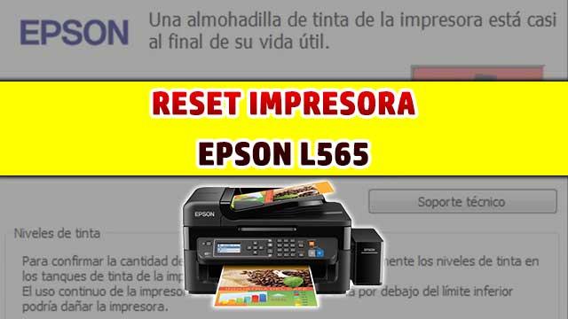 Cómo resetear almohadillas de la impresora EPSON L565
