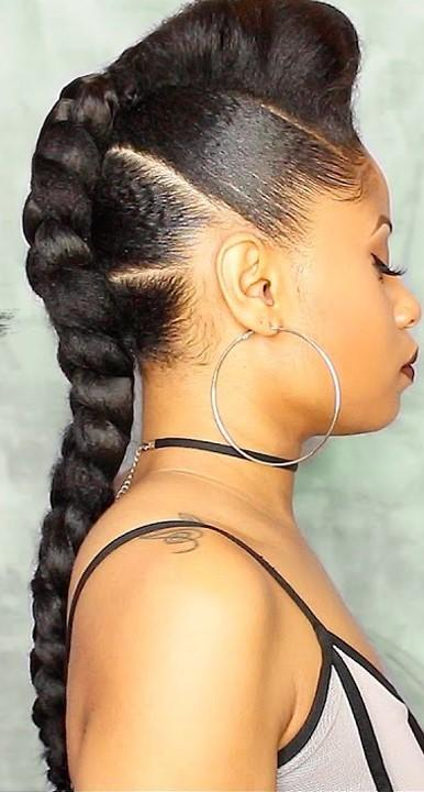 7 Protective Hairstyles For Natural Hair