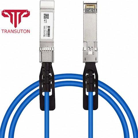 Blue 10GbE SFP+ Passive Direct Attach Copper Cable