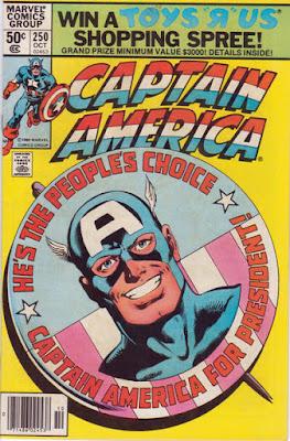 Captain America #250, President?