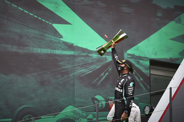 2020 Portuguese Grand Prix, Sunday - Steve Etherington
