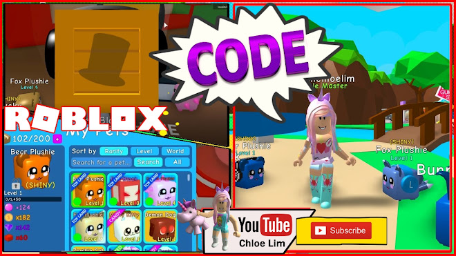 Roblox Bubble Gum Simulator Gameplay! CODE! Going To the new Treasure Island! Buying More Pets to Make Shiny!