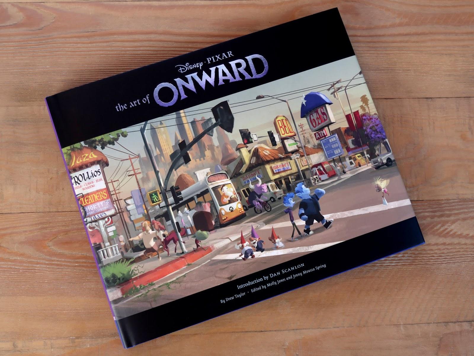 pixar The Art of Onward Book Review