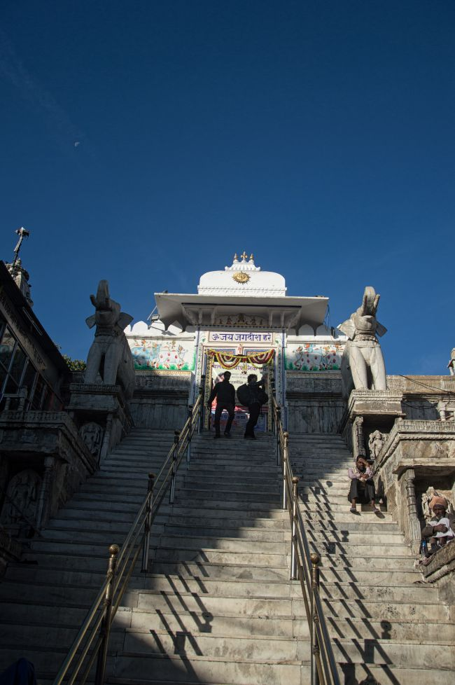 Entrance of Jagdish Temple