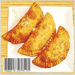 Massa de pastel simples frito sequinho e crocante