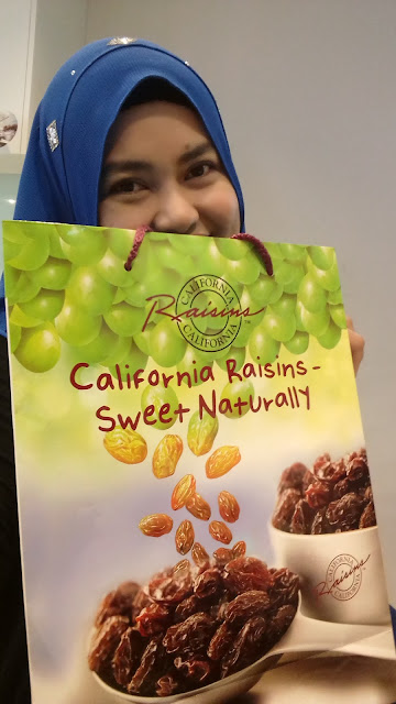 Blogger Cooking Challenge daripada California Raisins-Sweet Naturally
