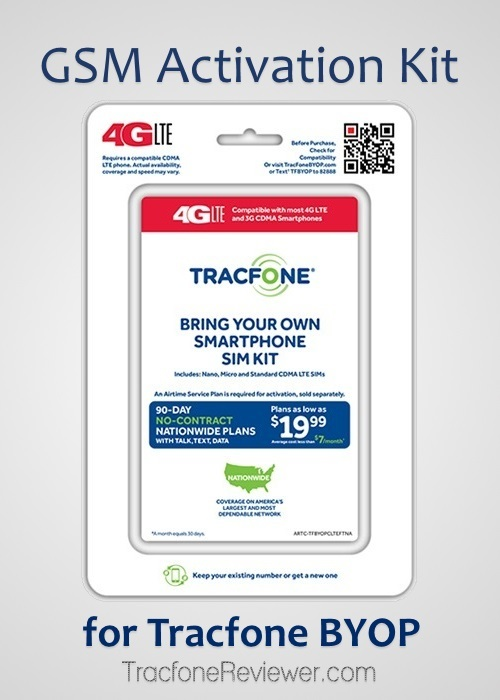TracfoneReviewer: GSM 4G LTE Activation Kit for Tracfone