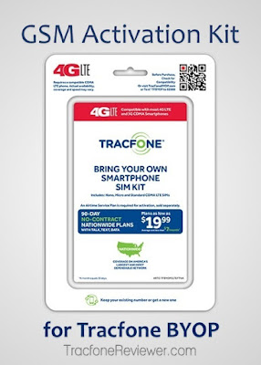 This information regarding bringing GSM devices to use with Tracfone is brought to you by  GSM 4G LTE Activation Kit for Tracfone BYOP Available