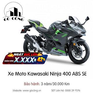 Bảng Giá Xe Moto Kawasaki Ninja 400 ABS SE Mới Nhất Tháng 12/2020