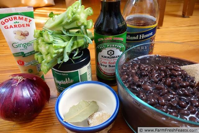 Sherried Black Bean and Broccoli Stem Soup   Farm Fresh Feasts