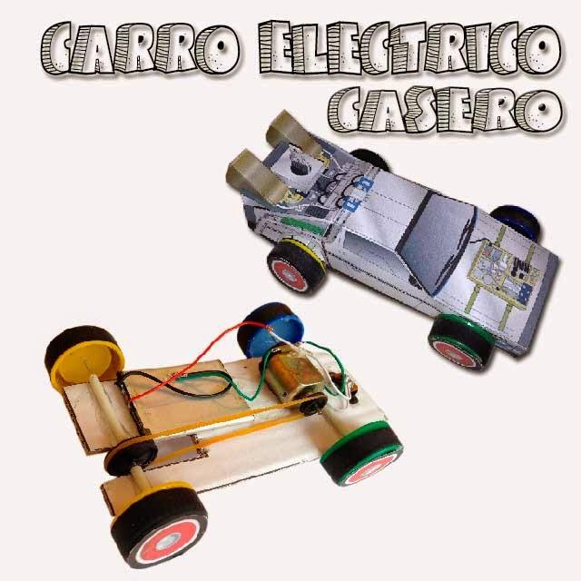 Carro eléctrico casero Delorean casero