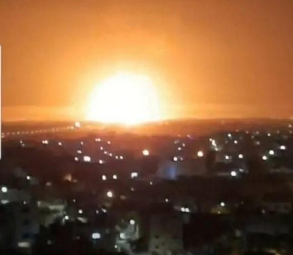 Ledakan di depot amunisi yordania