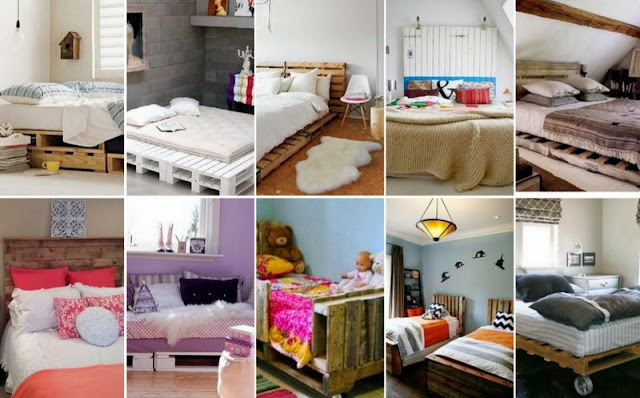 Kρεβάτια από Παλέτες