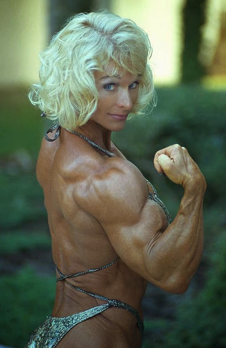 80s Female Muscle Judy Miller