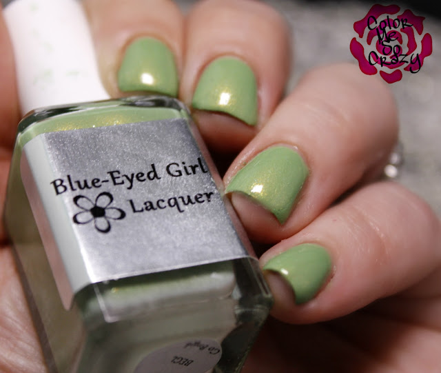 begl, blue eyed girl lacquer, northern star polish, punk rock, st. patrick's day nails, green nails, clover nails, 4 leaf clover nails, punk rock nails