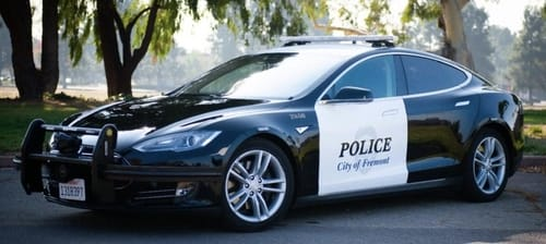 The Tesla Model S passed the Fremont Police Department test