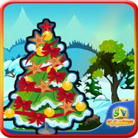 SiviGames Christmas Tree Decor Escape