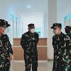 Pangdam Hasanuddin Tinjau Pembangunan Gedung Khusus Covid-19 RSAD dr Ismoyo