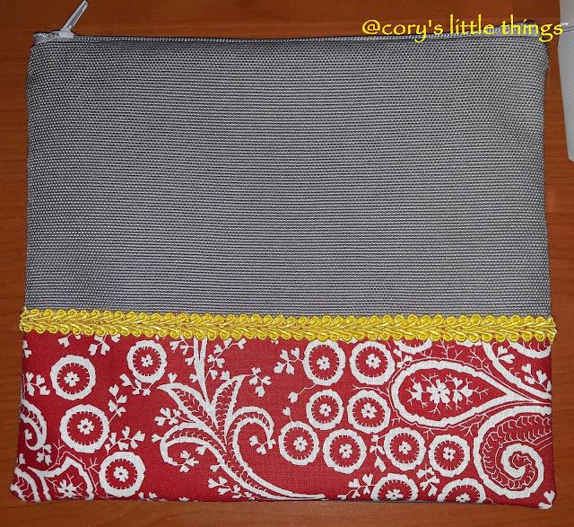 Palmette print beauty case / Portfard cu imprimeu Palmette