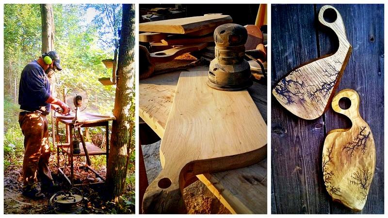 deseczkowo, deski, konkurs, figury lichtenberga na drewnie,zdobienie drewna, zycie od kuchni