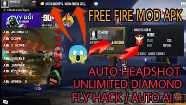 HACK FREE FIRE MOD ESP BOX ESP LINE FLY HACK BAY CỰC CAO HOÀN TOÀN MIỄN PHÍ