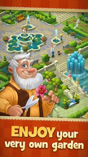 Gardenscapes New Acres MOD APK v1.4.0 [Unlimited Money] Terbaru 2017 Gratis for Android