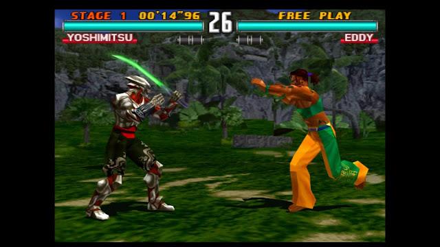 تحميل لعبه تيكن 3 Tekken كامله للكومبيوتر