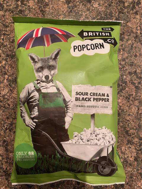 Sour Cream & Black Pepper Popcorn (The British Popcorn Co.)