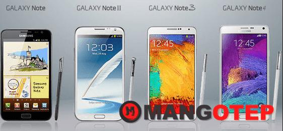 Daftar Harga Samsung Galaxy Note Series 2018