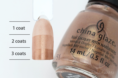 china glaze Tan-Do Attitude