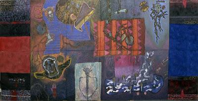 Mural Juya-annia de Alejandro Mojica Diaz