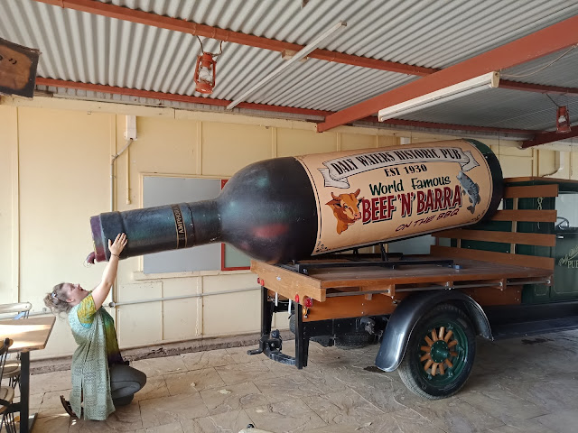 BIG Wine Bottle in Daly Waters | Northern Territory BIG Thing