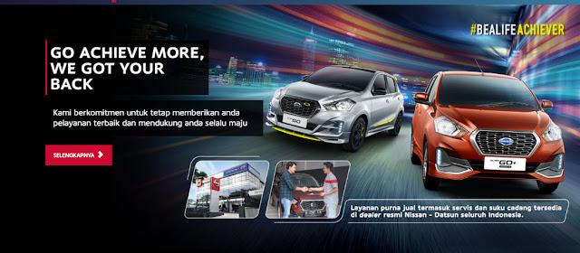 banner Mobil Datsun Indonesia