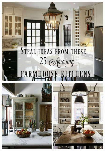 pinterest collage farmhouse kitchens