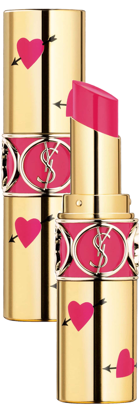 YSL Heart and Arrow Rouge Volupte Shine Collector Oil-in-Stick Lipstick