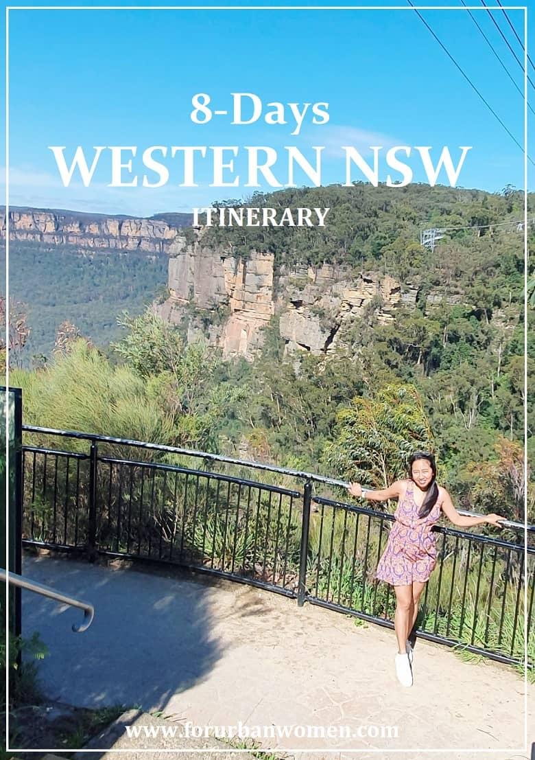 8-Days Road Tour Around Western NSW