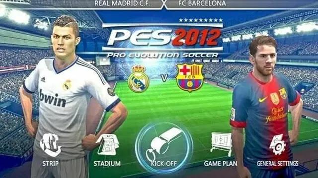 تنزيل لعبة كرة القدم pes 2012
