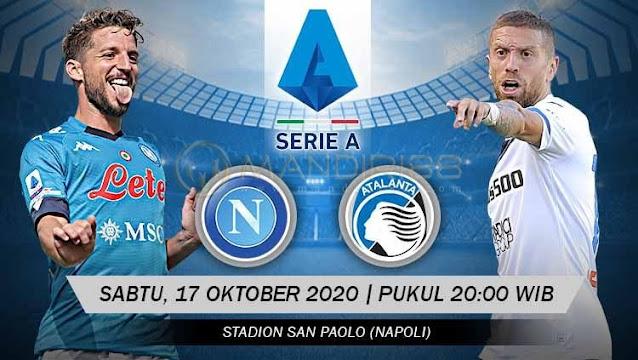 Prediksi Napoli Vs Atalanta, Sabtu 17 Oktober 2020 Pukul 20.00 WIB