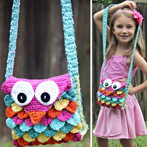 Crochet Owl Purse - Free Pattern