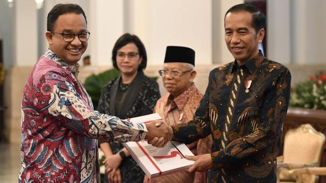 Realisasi Anggaran DKI Dipuji Jokowi: Jakarta Sudah 70-90%, Yang Lain 10-15 Bahkan Bansos 0%