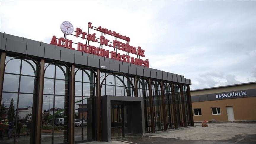 Sancaktepe Prof. Dr. Feriha Öz Acil Durum Hastanesi bugün açılıyor