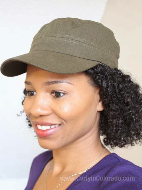 41d734e2bbd44 In Review  Satin Lined Military Cap from Natural Born Hats LLC - Curly in  Colorado