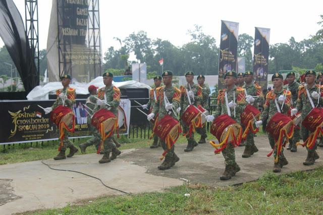 Satgas Pamtas Kostrad Semarakkan Acara Festival Crossborder di Jayapura