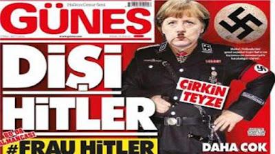 Törökország, Angela Merkel, Recep Tayyip Erdogan, német-török konfliktus, Güneș