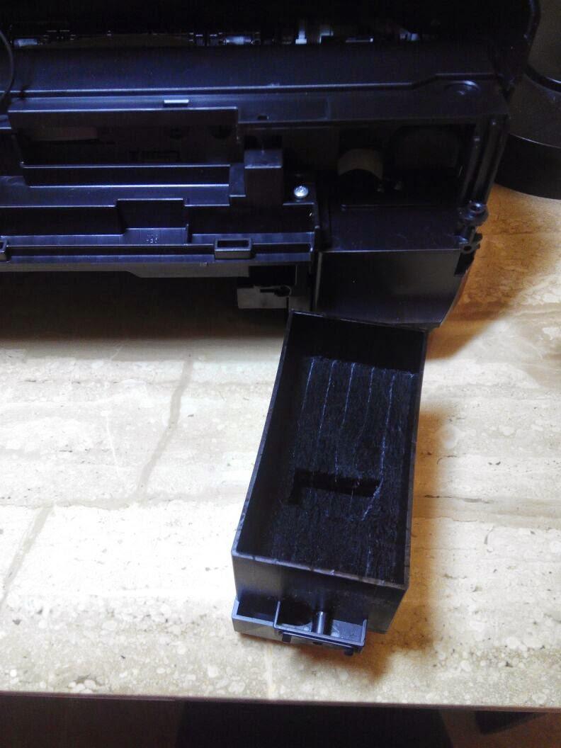 Extraer almohadilla Epson xp510