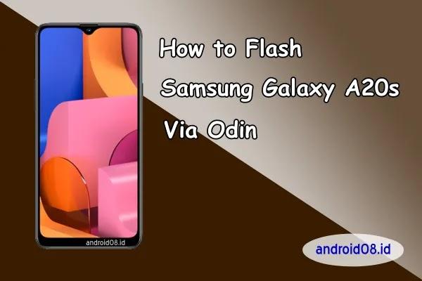 Flashing Samsung Galaxy A20s