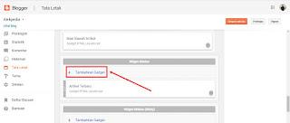 Cari posisi yang tepat untuk widget populer post